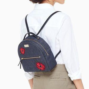 NWT Kate Spade Grove Street Poppy Sammi Backpack